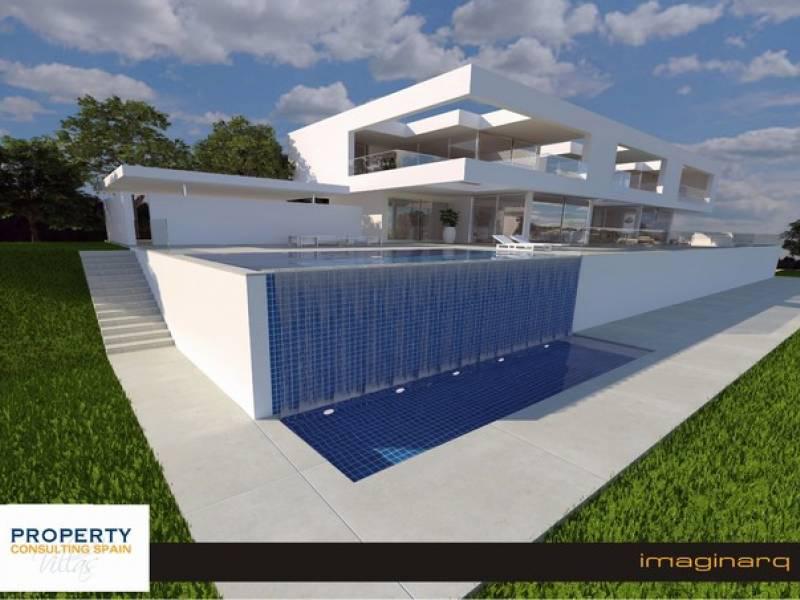 Villa de lujo con impresionantes vistas en La Sella Golf (PCS9331)