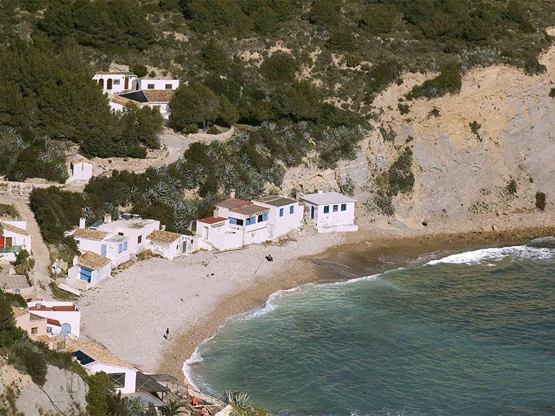 Cala Portixol - 12 playas y calas de Jávea: una para disfrutar cada mes el año