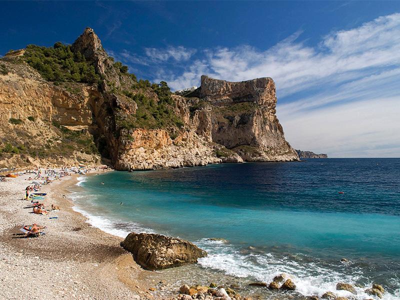 Cala Moraig - 12 playas y calas de Jávea: una para disfrutar cada mes el año