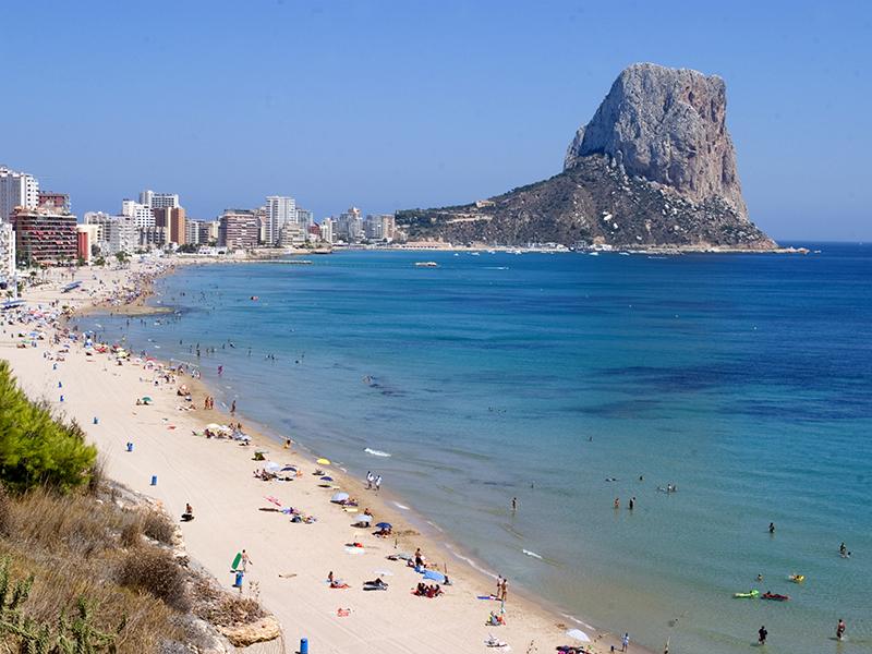 Calpe, propiedades en la Costa Blanca en las playas con Bandera Azul 2018